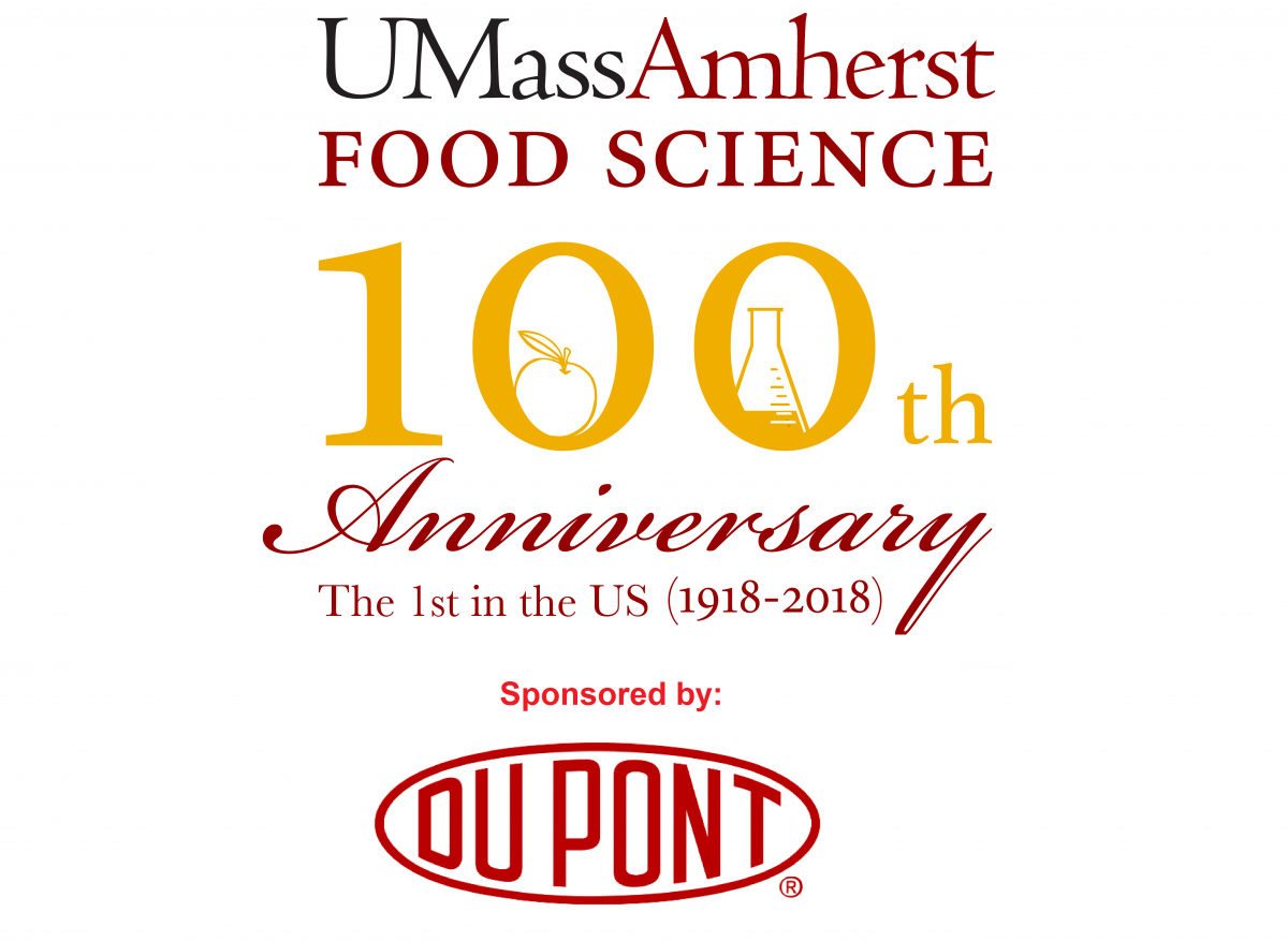 UMass Amherst Food Science 100th Anniversary, sponsored by DOU PONT